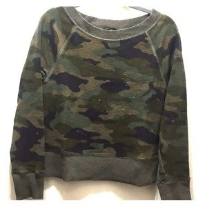 Banana Republic knit camo sweater